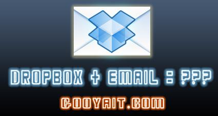 آپلود فایل ها در دراپ باکس بوسیله ایمیل