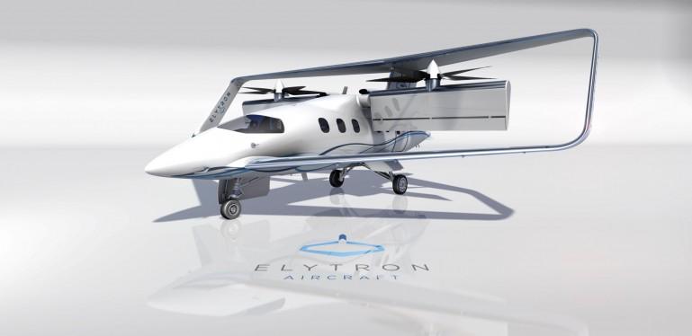 بدنه ی هواپیمای Elytron 2S tiltrotor به اتمام رسید