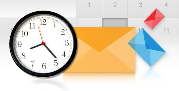 بهترین دو ساعت برای ارسال ایمیل های بازاریابی