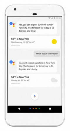 enable-google-assistant