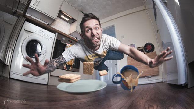 تصاویر زیبای سلفی که در آشپزخانه گرفته شده اند