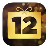 """با نصب اپلیکیشن """"12 Days of Gifts"""" از اپل هدیه کریسمس بگیرید"""
