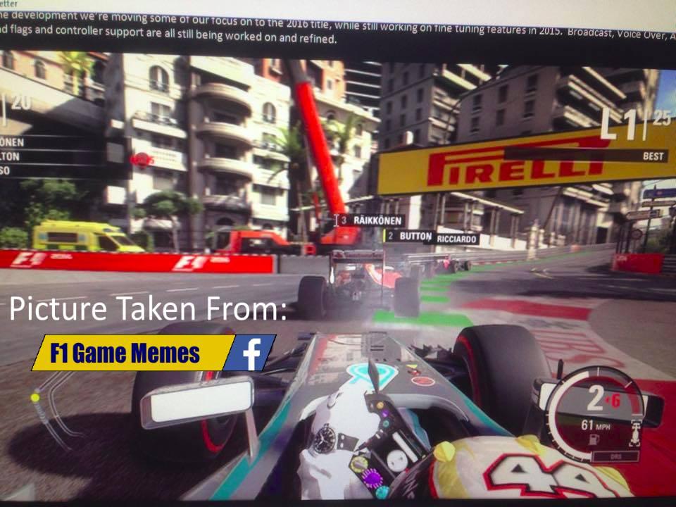 تصاویر به بیرون درز کرده بازی F1 2015