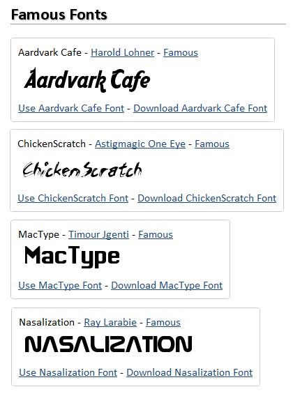 اسم خودتان را با CoolText به لوگو تبدیل کنیددر بین این مجموعه شما می توانید فونت های نام آشنایی مانند NASA یا Chicken Scratch را هم بیابید.بعد از اینکه فونت را انتخاب کردید می توانید تغییرات رنگی یا ...