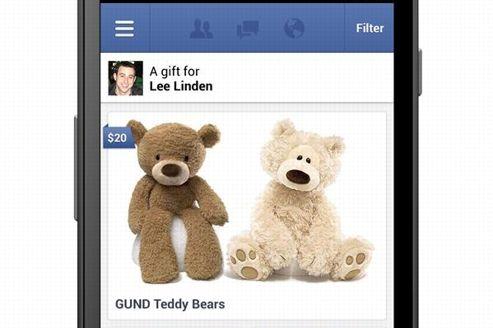 فیس بوک هدیه های واقعی میفروشد