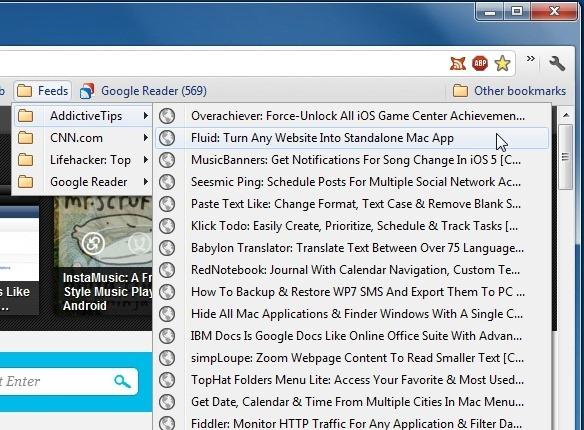 افزونه خوراک فاکسیش: قابلیت بوکمارکهای آنلاین فایرفاکس را به کروم اضافه کنید