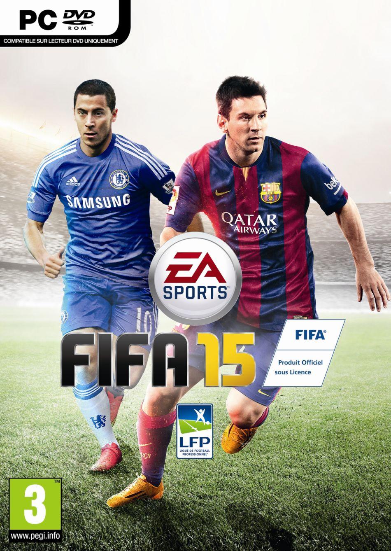 یارِ مسی از چلسی آمد! هازارد و مسی روی کاور بازی FIFA 15 خودنمایی می کنند