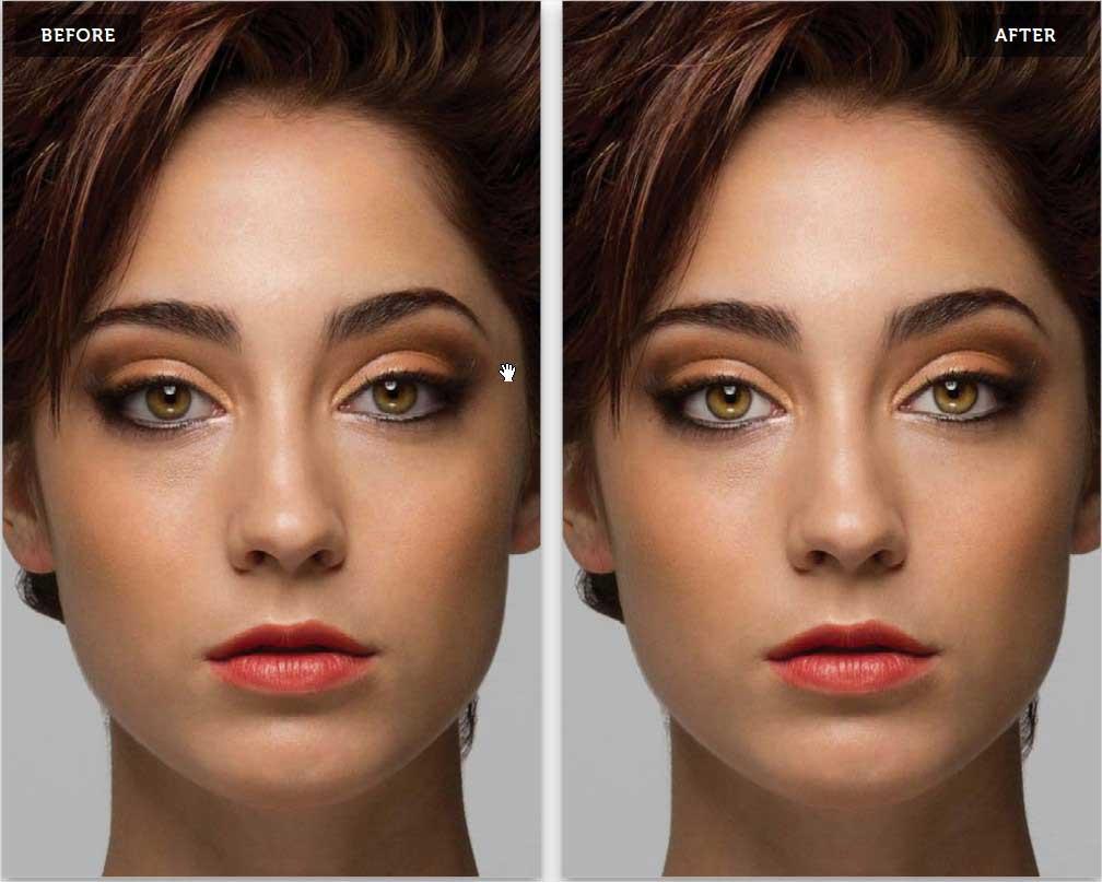 روشنتر کردن سفیدی چشم ها با کمک فتوشاپ
