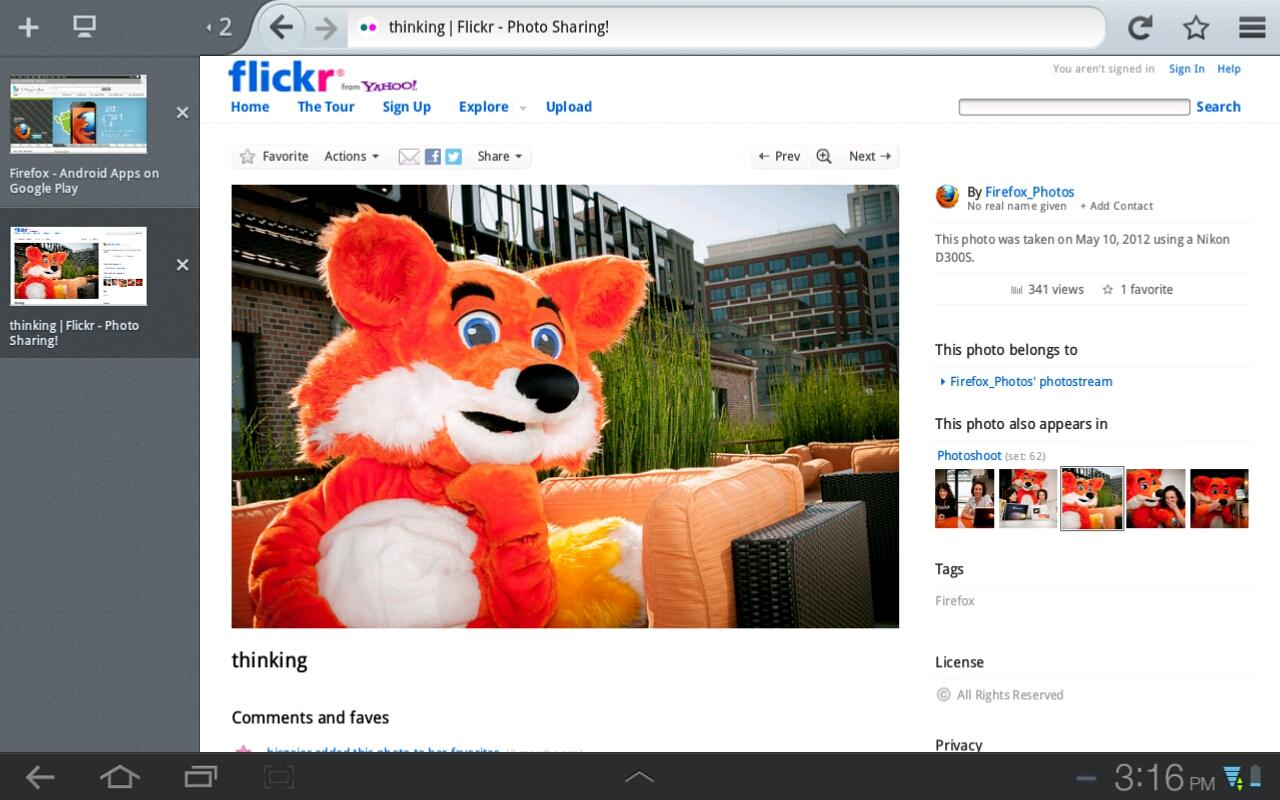 نگاهی به فایرفاکس 15 برای تبلت ها
