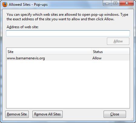firefox options 9 راهنمای جامع تنظیمات مرورگر فایرفاکس Mozilla Firefox