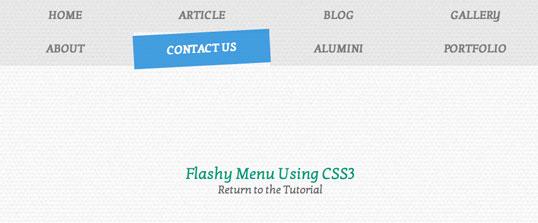 چگونه می توانید به کمک کدهای CSS یک منوی درخشان درست کنید