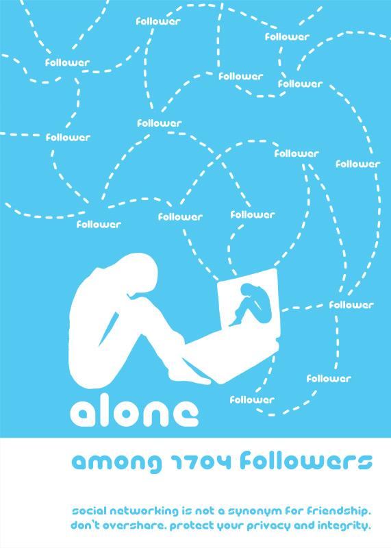 با یکدیگر در ارتباط، اما تنها