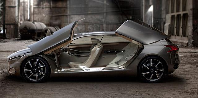 """اتومبیل آینده پژو: """"اولین خودرو دیزل هیبرید در جهان"""" +عكس"""