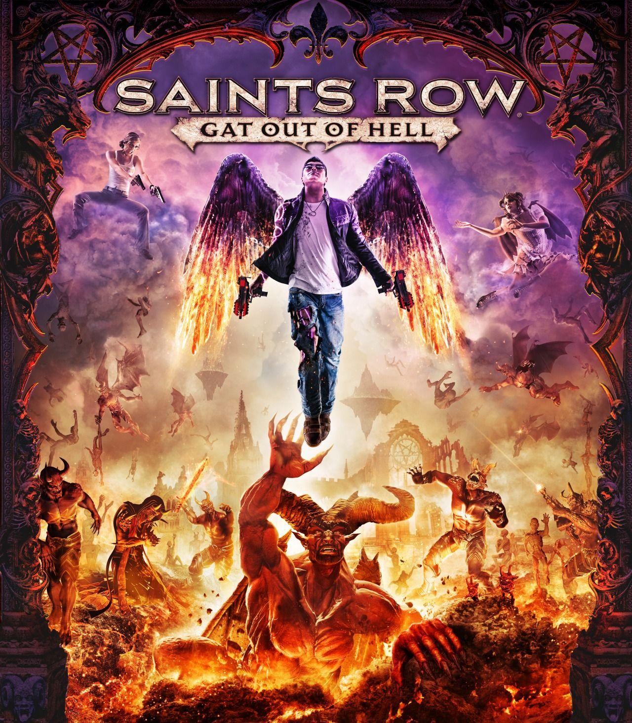 سال 2015 منتظر بازی Saints Row: Gat out of Hell باشید