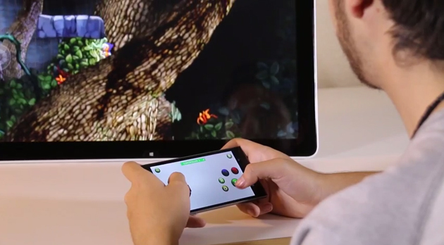 با کمک اپلیکیشن دسته مجازی GestureWorks، اسمارت فون خود را به کنترلر بازی با PC تبدیل کنید!