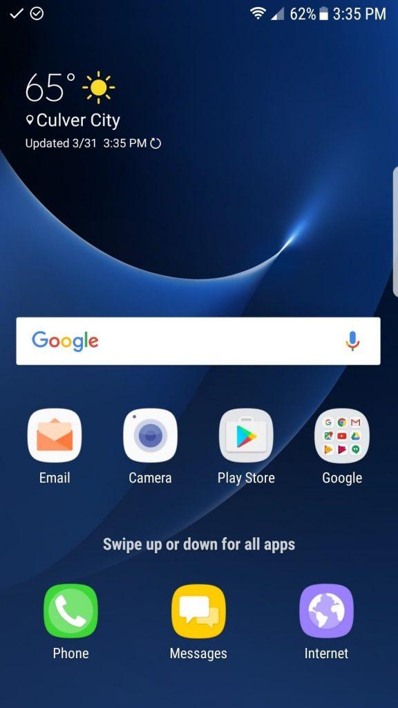 صب لانچر جدید گلکسی S8 بر روی S7 یا S7 Edge