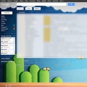 آموزش اضافه کردن تصویر زمینه به Gmail