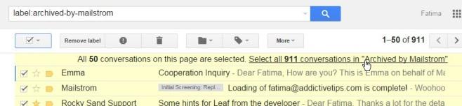 چگونه ایمیل های لیبل شده را مدیریت کنیم