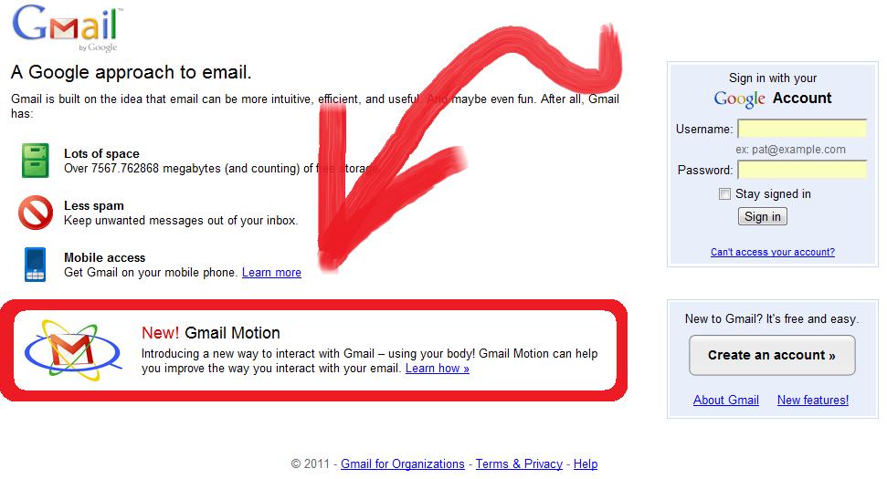 دروغ فوق العادهی گوگل در سرویس ایمیل