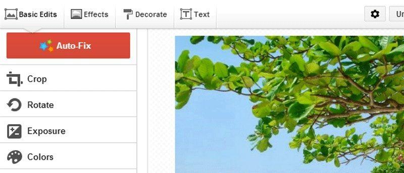 ویرایش تصاویر در گوگل پلاس