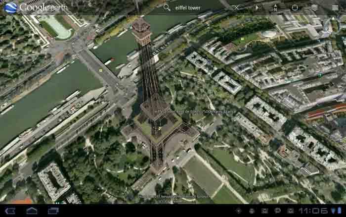 ۲۵ چشم انداز عجیب از Google earth