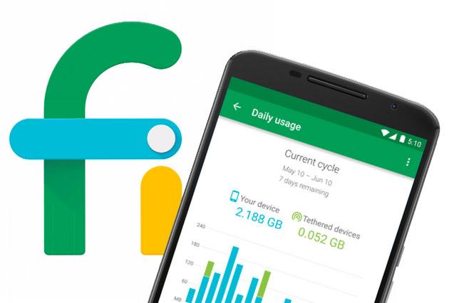 راه اندازی شبکه موبایلی گوگل برای کاربران نکسوس ۶