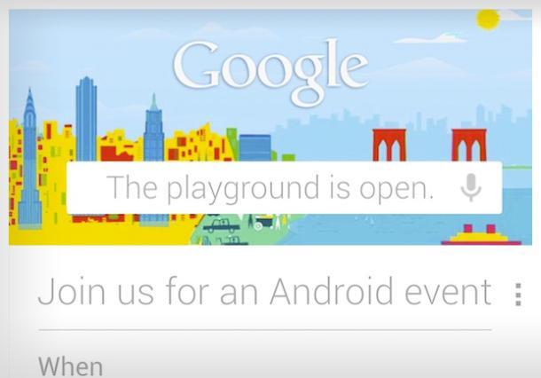 لیست محصولات گوگل در روایداد 29 اکتبر به بیرون درز کرد
