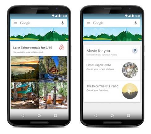 دستیار صوتی Google Now بروزرسانی شد و حالا از اپلیکیشن های شخص ثالث پشتیبانی می کند