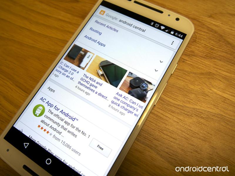 اپلیکیشن اندروید جستجوی گوگل حالا امکان جستجوی محتوا و ویدئو را هم فراهم کرده است