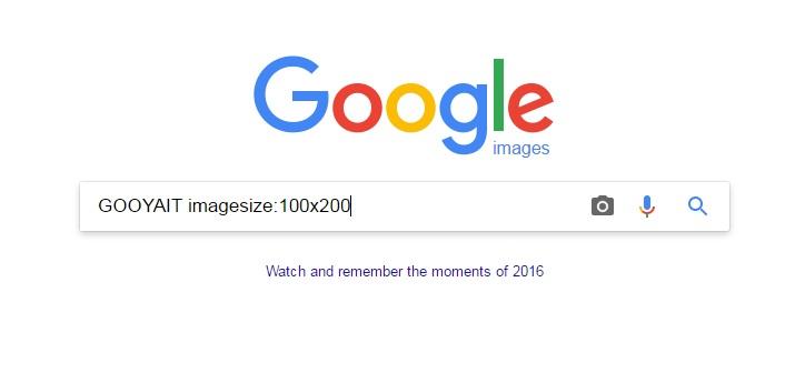 راهنمای جستجوی تصاویر با سایز مشخص در گوگل