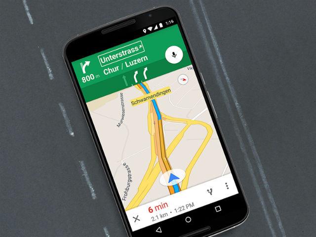 آپدیت گوگل مپ راهنمای Lane را برای چند کشور اروپایی به ارمغان آورده است