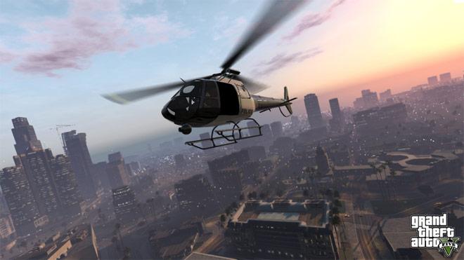تصاویری از محیط بازی GTA V