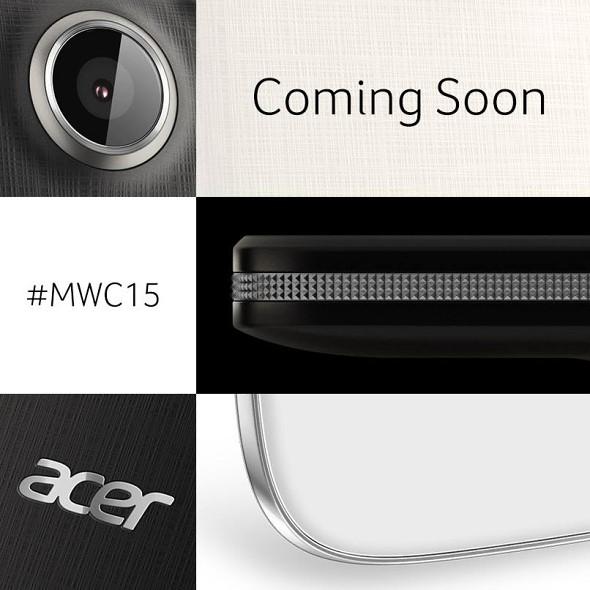 پوستر ایسر معرفی محصولات جدید را در MWC 2015 تایید می کند