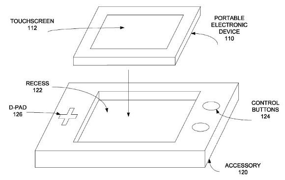 پنتنت جدید اپل خبر از تولید یک کنترلر بازی برای آیفون می دهد