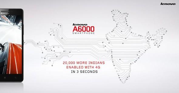 فروش ۲۰ هزار تلفن هوشمند Lenovo A6000 فقط در سه ثانیه!
