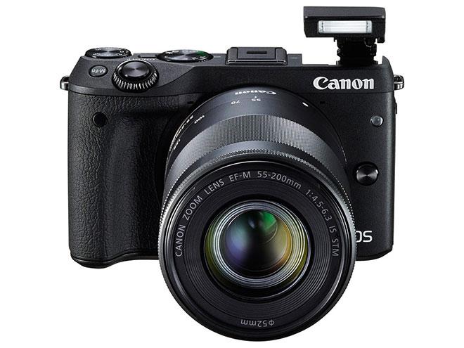 دوربین EOS M3 کانن با قابلیت تعویض لنز معرفی شد