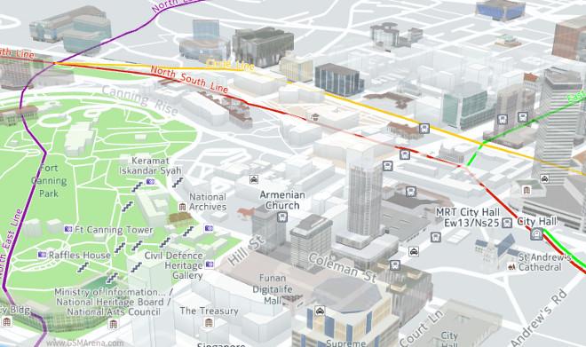 بروزرسانی جدیدی برای اپلیکیشن Here Map در اندروید و ویندوزفون منتشر شد