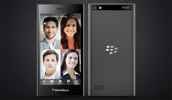 تلفن هوشمند BlackBerry Leap رسما معرفی شد