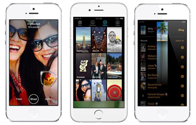 اپلیکیشن Slingshot حالا امکان دنبال کردن افرادی محبوب را فراهم کرده است