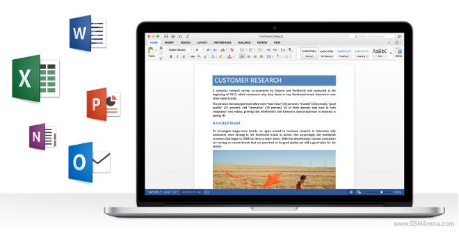 مایکروسافت نسخه پیشنمایش آفیس ۲۰۱۶ را برای مک عرضه کرد