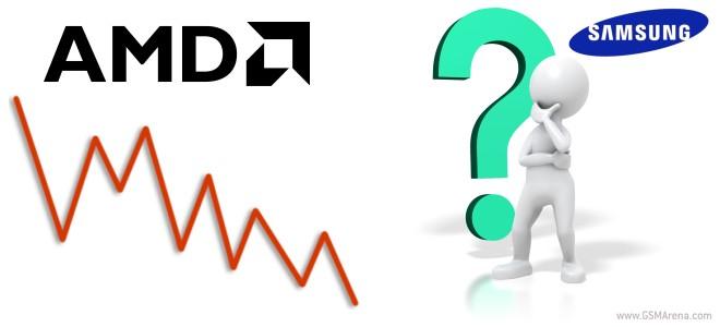AMD ممکن است به زودی به بخشی از خانواده سامسونگ تبدیل شود