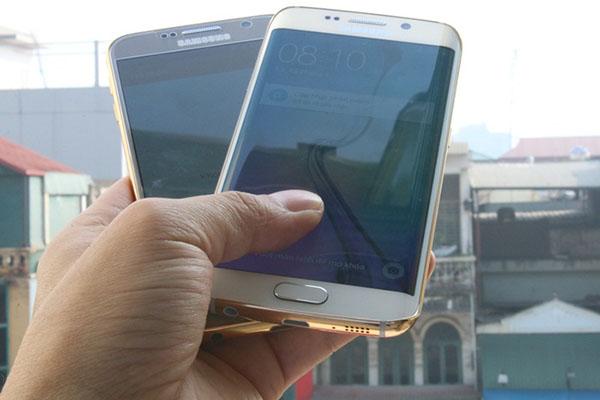 سامسونگ گلکسی S6 و edge S6 با روکش طلای ۲۴ عیار