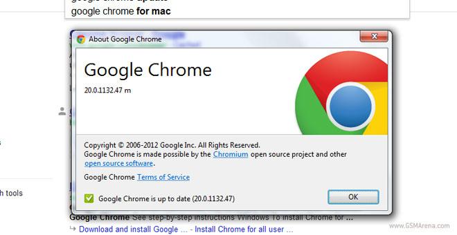 مرورگر Chrome 20 منتشر شد