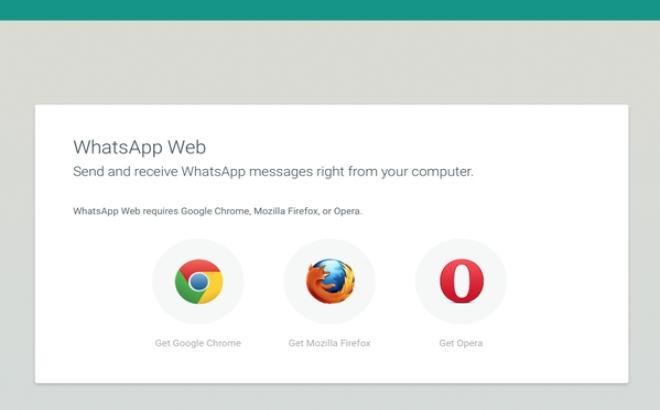 نسخه تحت وب واتزاپ هم اکنون با مروگرهای فایرفاکس و اپرا نیز کار میکند