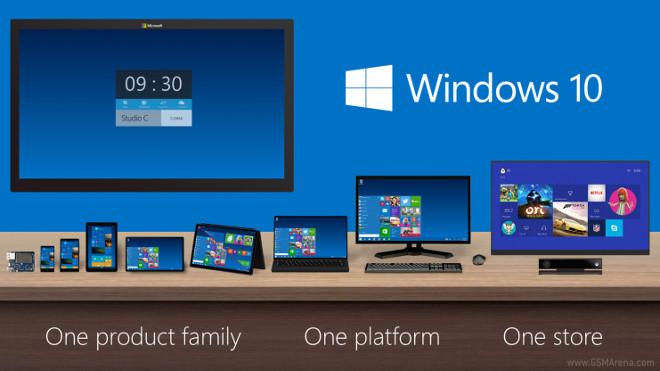 مایکروسافت ویندوز ۱۰ را برای تبلت ها،اسمارت فون ها و رایانه های شخصی معرفی کرد