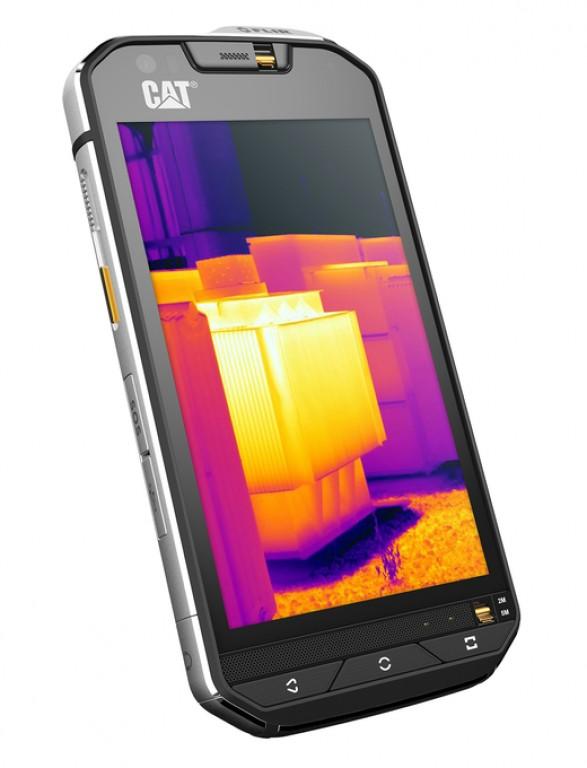 CAT S60 اولین تلفن هوشمند مجهز به دوربین گرمایشی داخلی