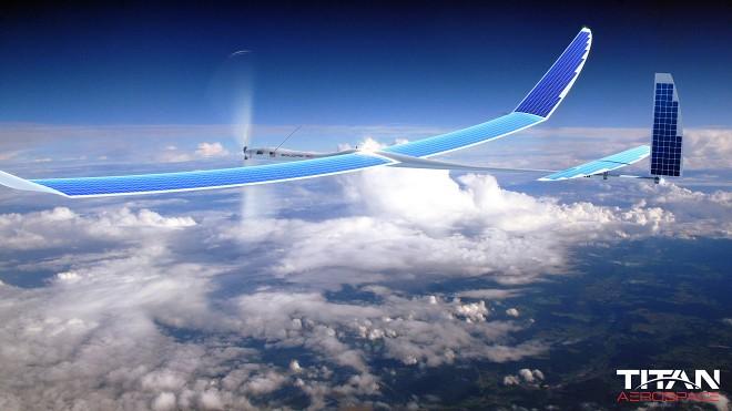 گوگل سخت درحال کار بر روی هواپیماهای بدون سرنشین تیتان برای ارائه اینترنت در نقاط دور افتاده است