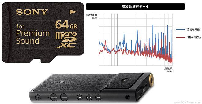سونی نسخه پریمیوم صوتی کارت حافظه ۶۴ گیگابایت میکرو SD را رونمایی کرد