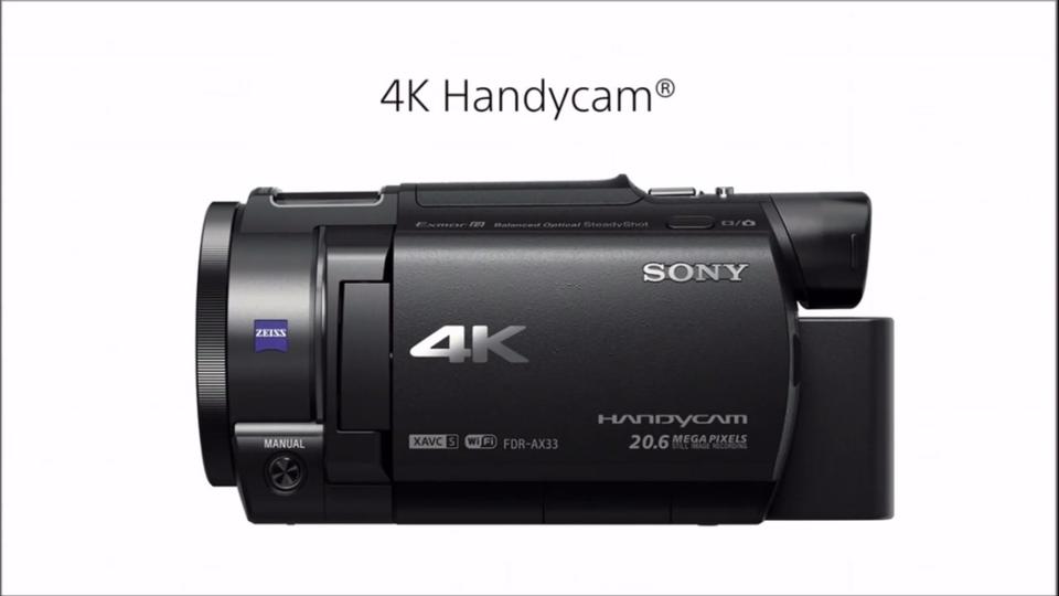 CES 2015: سونی از دوربین 4K جدید خود رونمایی کرد