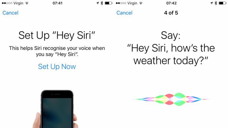 حالا سیری میتواند صدای شما را در iOS 9 تشخیص دهد